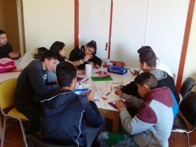Alumnos del programa de compensación educativa