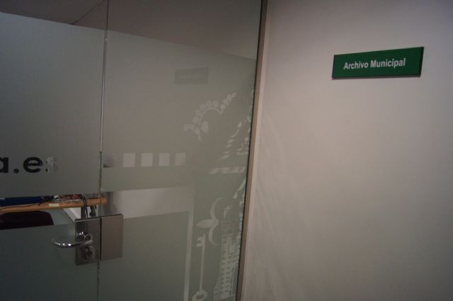 El Ayuntamiento debate la eliminación de los documentos catastrales que se custodian en Archivo Central Administrativo de Totana