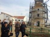 Cultura recupera los molinos salineros de San Pedro del Pinatar