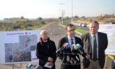 La puesta en servicio de un nuevo tramo de la Costera Norte reducirá el tráfico de La Ñora y mejorará su conexión con otras pedanías y urbanizaciones del entorno