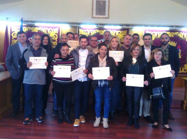 El SEF facilita la inserción laboral de de sempleados de Alguazas - 1, Foto 1