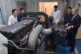 Disfrimur cede un motor de camión a la UPCT para investigar combustibles alternativos