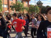 Los alumnos del IES 'Salvador Sandoval' torreño corren un año más en favor de 'Save The Children'