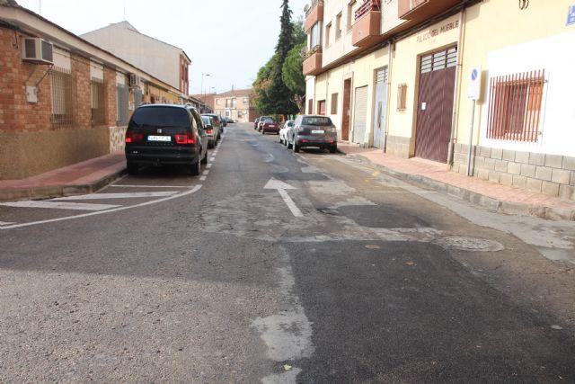 Bacheo en las calles y caminos de Alhama de Murcia. Plan 2015, Foto 1