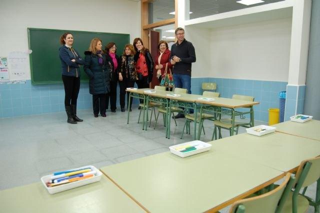 Educación realiza obras de mejora en 17 centros educativos durante las vacaciones de Navidad, Foto 2