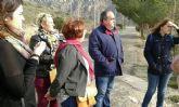 El concejal de Descentralización visita El Portús
