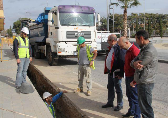 El Ayuntamiento y la Comunidad renuevan redes de saneamiento en Puerto Lumbreras - 2, Foto 2