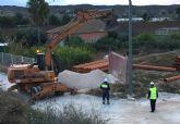 Comienza la renovación de los colectores de saneamiento de La Media Legua torreña