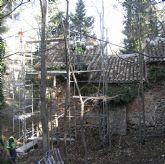La Comunidad inicia la restauraci�n de la casa forestal de Fuente Rubeos en Sierra Espuña que se convertir� en museo Scout