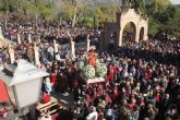 """La """"7 Televisi�n Regi�n de Murcia"""" transmitir� mañana en directo la romer�a de regreso de la imagen de Santa Eulalia a su santuario"""