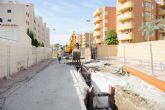 La instalaci�n de dos colectores mejora la red de saneamiento de la ordenaci�n Bah�a