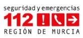 Bomberos del CEIS acuden a apagar el incendio de un cami�n en la entrada a Alhama de Murcia