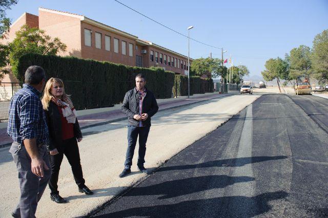 Acondicionados los accesos al colegio de Cañada de Gallego y renovada la red de agua potable - 3, Foto 3