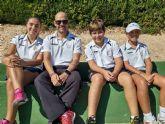 Exitoso final de año para los jugadores de la escuela del club tenis Totana
