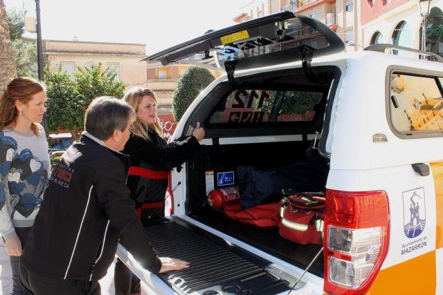 Protección Civil renueva su flota con un vehículo para rescate en playas e interior - 1, Foto 1