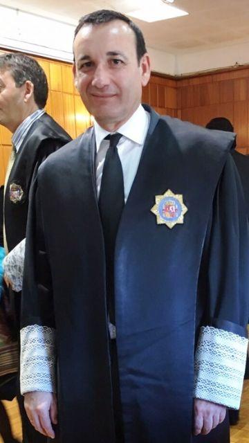 El mazarronero Francisco Navarro, nuevo magistrado de la Audiencia Provincial - 1, Foto 1