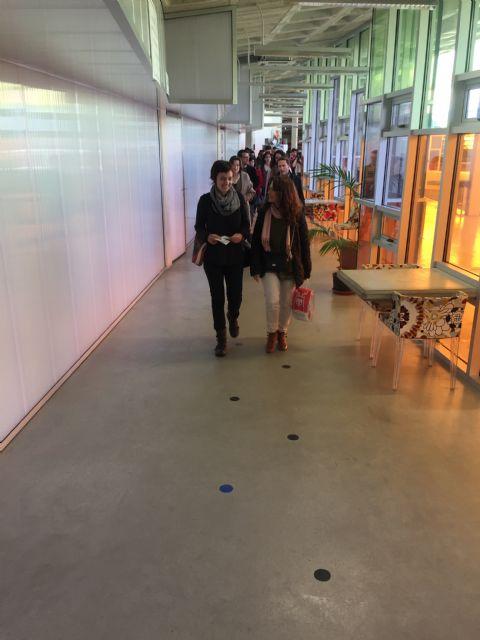 Inaugurada Punto y Arte, Exposición alumnos del IES Luis Manzanares - 3, Foto 3