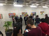 Inaugurada 'Punto y Arte', Exposición alumnos del IES Luis Manzanares