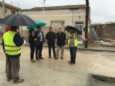 Un nuevo colector permitirá mejorar la red de saneamiento de 1.300 habitantes en Beniel