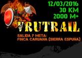 La VRUTRAIL tendrá lugar el próximo sábado 12 de marzo