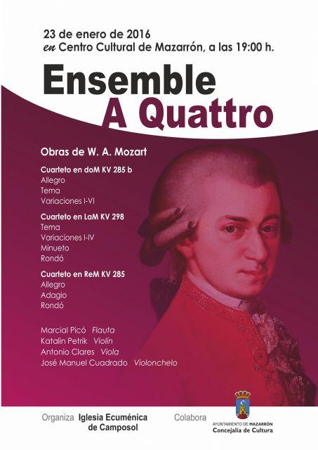 La Asociación Ecuménica invita a escuchar a Mozart con un fin benéfico - 1, Foto 1