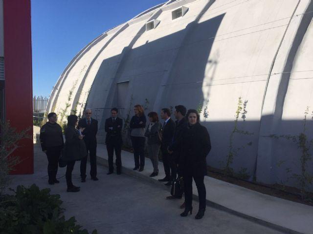 El Rector de la UPCT y el Alcalde de Torre Pacheco visitan el edificio del TOP-CEMIDI - 1, Foto 1