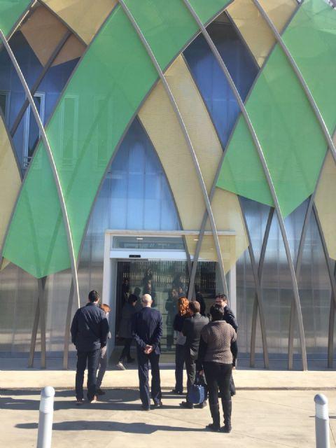 El Rector de la UPCT y el Alcalde de Torre Pacheco visitan el edificio del TOP-CEMIDI - 2, Foto 2