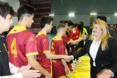 Amplia expectación del Nacional de Fútbol Sala sub 16 celebrado en Mazarrón