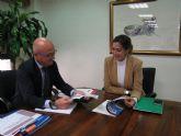 El consejero Juan Hernández se reúne con la alcaldesa de Archena