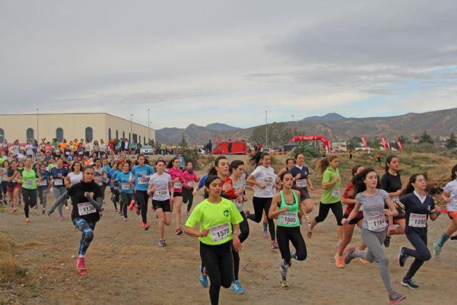 Un millar de participantes en la Final de Cross Escolar celebrada en Puerto Lumbreras - 1, Foto 1