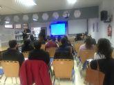 Durante la mañana de hoy 30 jóvenes del municipio de Torre-Pacheco han realizado el Taller 'Crea y haz que tu empresa funcione'