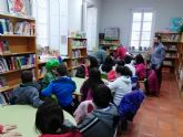 Con la actividad 'Cuentos de mil colores' se reanuda el programa de Animación a la Lectura ofertado a los centros docentes del municipio