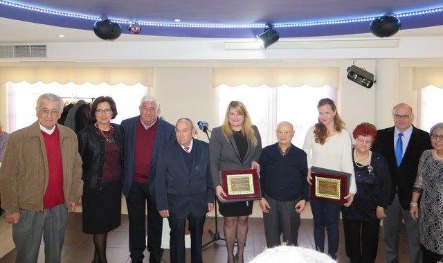 El club de jubilados reconoce a sus socios de mayor edad - 1, Foto 1