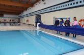 El Ayuntamiento de Puerto Lumbreras instala mantas térmicas en las piscinas municipales climatizadas para mantener la temperatura y ahorrar energía