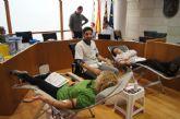 32 personas donaron sangre en la jornada de captación organizada por la Concejalía de Sanidad y el Centro Regional de Hemodonación