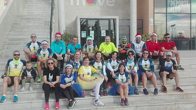 CAT athletes participated in the I Correvieja Totanera, San Silvestre de Albox and San Silvestre de Murcia - 3