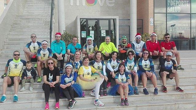 Atletas del CAT participaron en la I Correvieja Totanera, la San Silvestre de Albox y la San Silvestre de Murcia, Foto 3