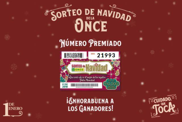 El Sorteo de Navidad de la ONCE deja casi 4 millones de euros en Torre-Pacheco - 3, Foto 3