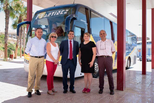 257.200 pasajeros se beneficiaron en 2018 de las subvenciones regionales que mantienen 15 líneas de autobús