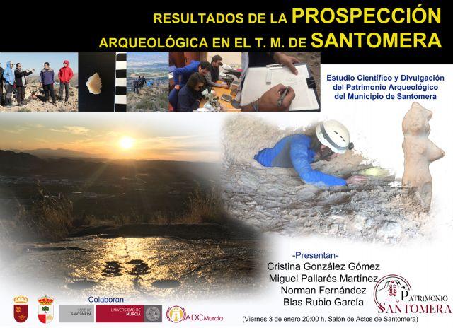 Hallan más de 25 yacimientos arqueológicos desconocidos hasta ahora en el término municipal de Santomera - 1, Foto 1