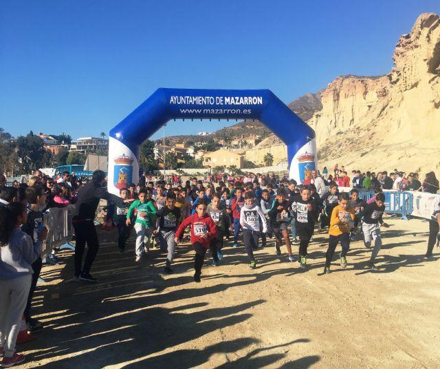 Cerca de 30 alumnos de los institutos de Mazarrón participan en la final regional de cross escolar - 1, Foto 1