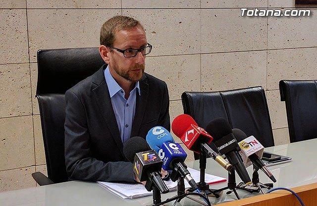 Rueda de prensa del Concejal de Urbanismo sobre novedades en el PGOM de Totana, Foto 1