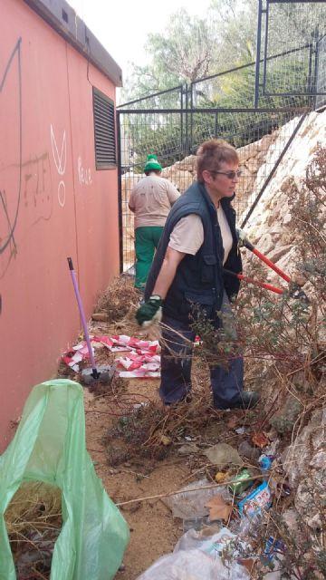 Trabajos de mantenimiento y mejora en el jardín de El Palmeral, Foto 5