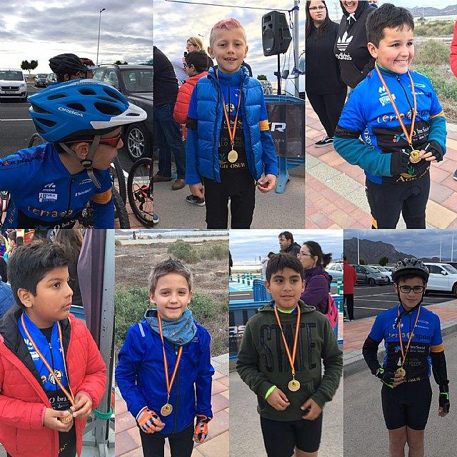 Alumnos de la Escuela de Ciclismo Terra Sport Cycling participaron en la primera prueba regional de Escuelas BTT, Foto 6