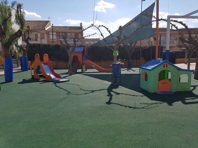 El Ayuntamiento de Molina de Segura invierte unos 50.000 euros en obras de mejora en los parques de las escuelas infantiles La Inmaculada, Consolación y Cañada de las Eras - 2, Foto 2