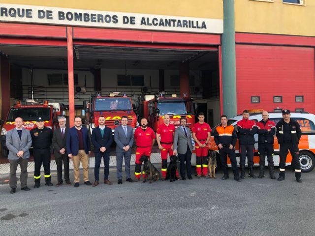 La Comunidad cede un nuevo vehículo para Protección Civil de Alcantarilla - 1, Foto 1