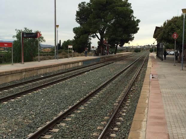Cortar�n el tr�fico ferroviario entre Murcia y Lorca durante dos semanas por obras debido a la implantaci�n de nuevas instalaciones de seguridad; del lunes 11 al s�bado 23 de febrero, Foto 4