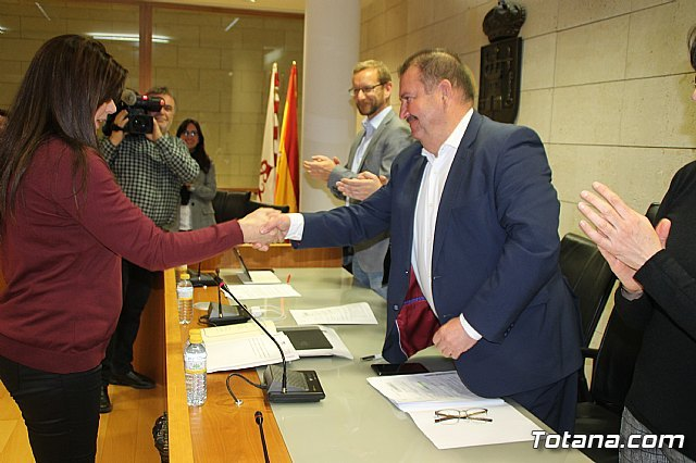 The new councilor of the Municipal People's Group, Eulalia Hernández López takes office - 2