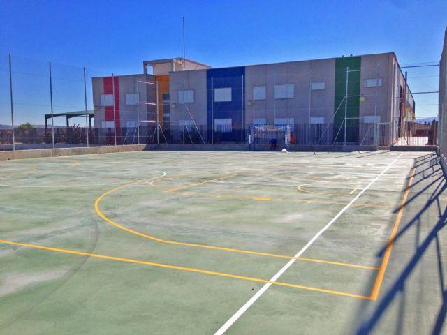 El Ayuntamiento instalará un sistema de iluminación en la pista deportiva del barrio del Carmen - 1, Foto 1