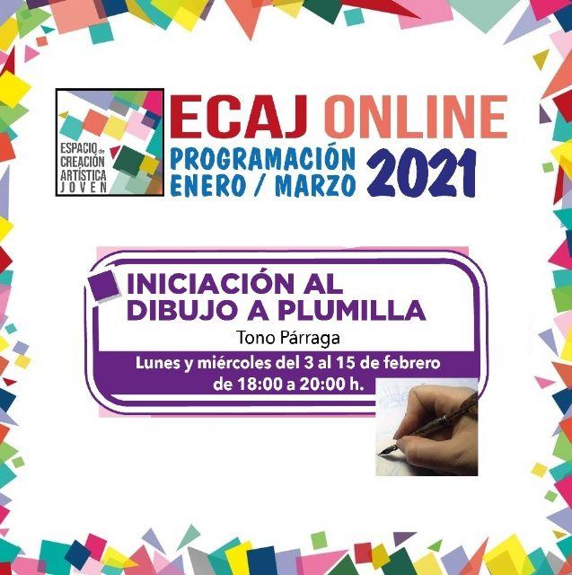 La Concejalía de Juventud de Molina de Segura inicia el miércoles 3 de febrero la formación Workshop: Iniciación al dibujo a plumilla - 1, Foto 1
